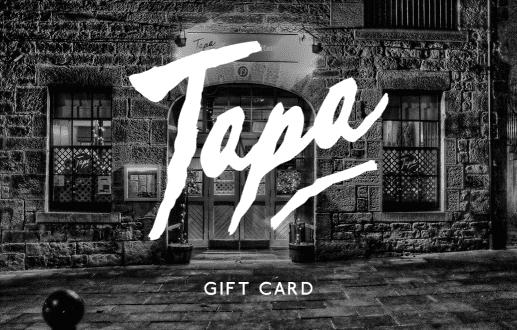 Tapa Gift Card