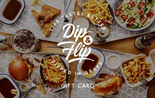 Dip & Flip Gift Card
